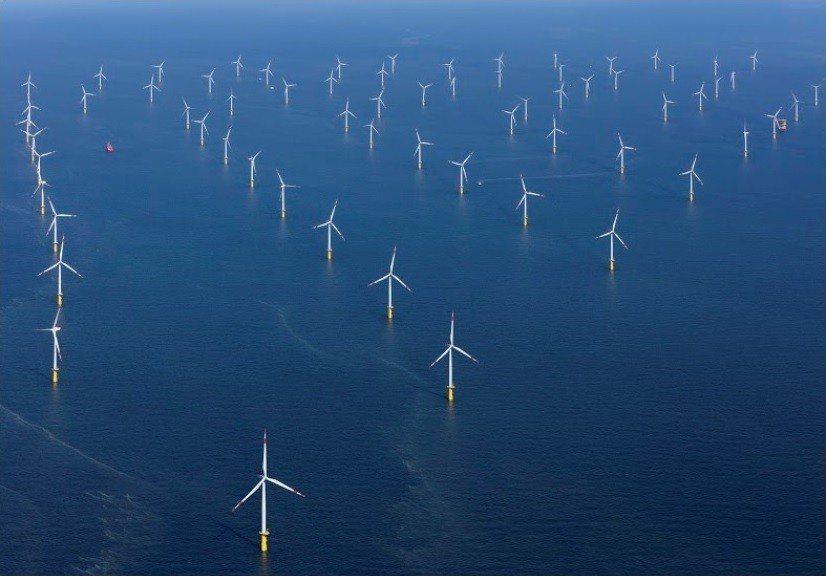 達德能源(wpd)設置於德國北海的Brtendiek專案。 達德能源/提供