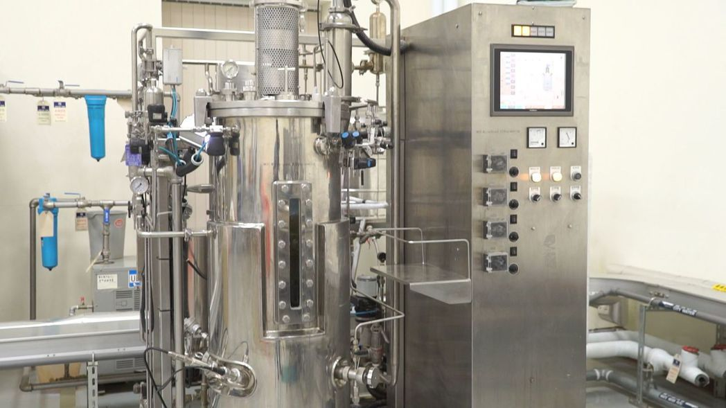 綠冠翔位屏東農業生技園區內的高科技廠房,引進最先進生產設備。 圖/綠冠翔提供