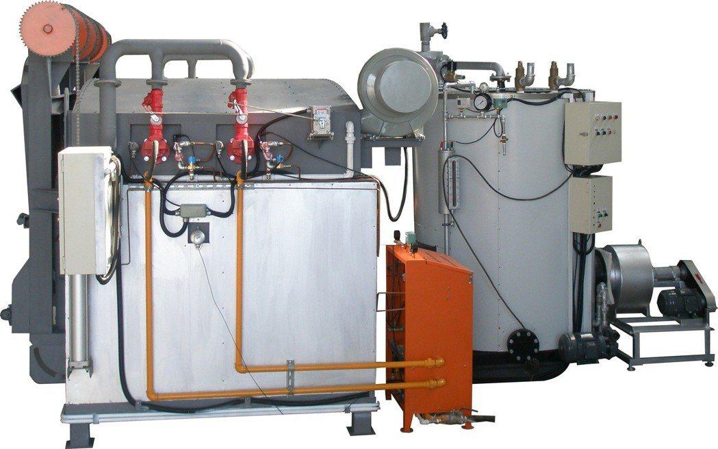 大榮能源設備新開發「複合式多功能燒結爐」,每月可節省1/3能源,榮獲我國20年發...