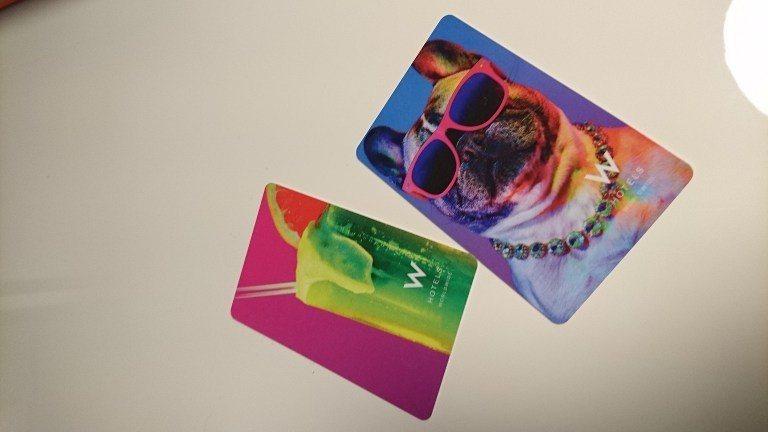 潮潮的狗狗房卡,非常搶眼。圖文來自於:TripPlus