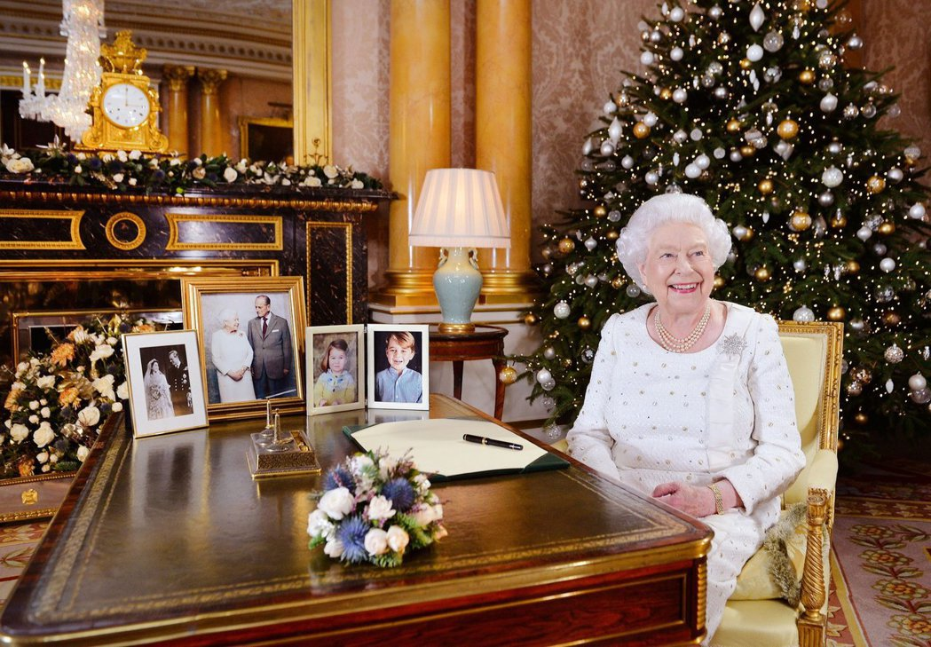 英國女王伊莉莎白二世發表耶誕致詞。英國王室官方推特