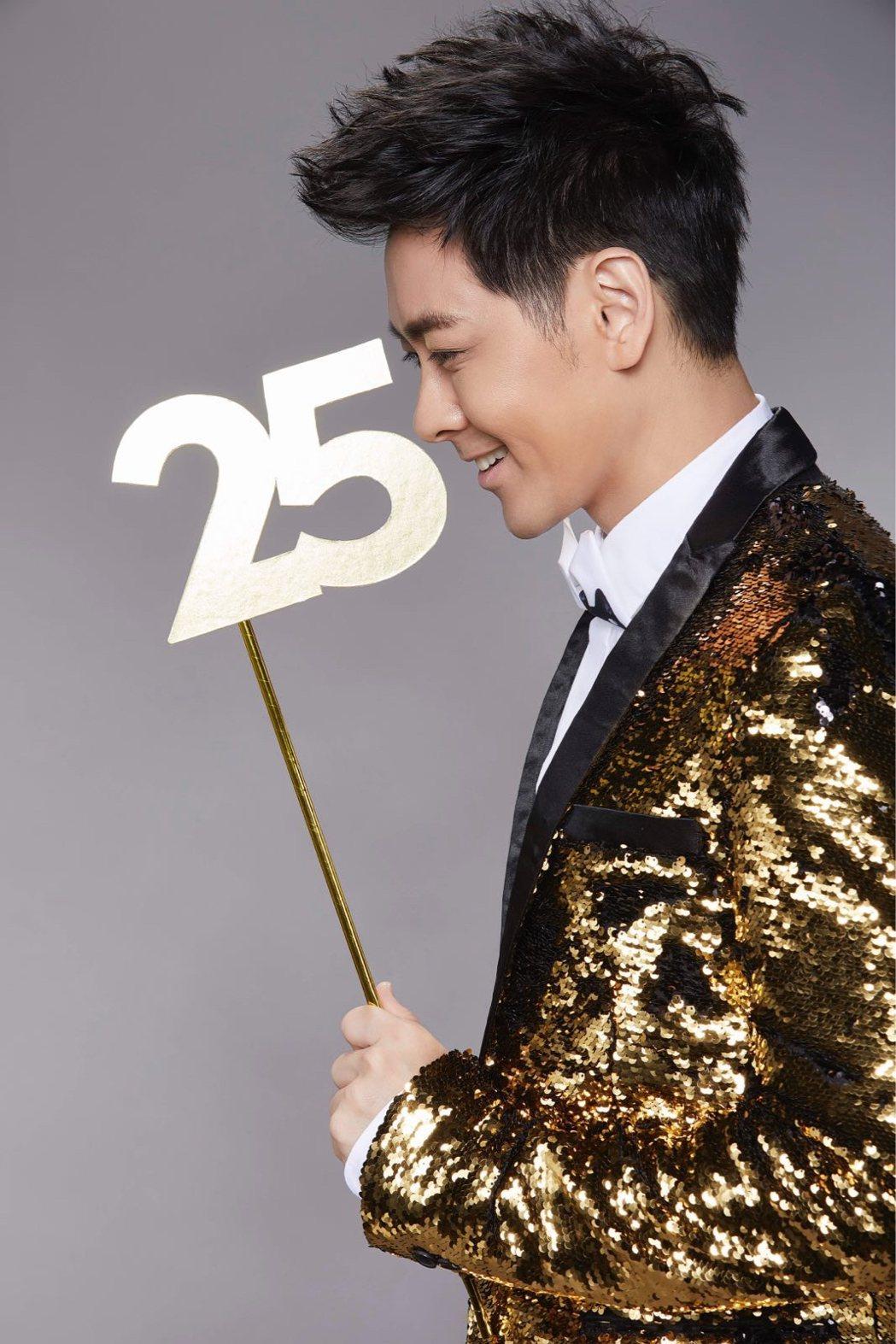 出道25年的林志穎,決定在2018年推出新專輯。圖/娛人制造提供