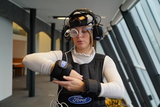 Ford和德國科研機構Meyer‑Hentschel Institute合作製作...