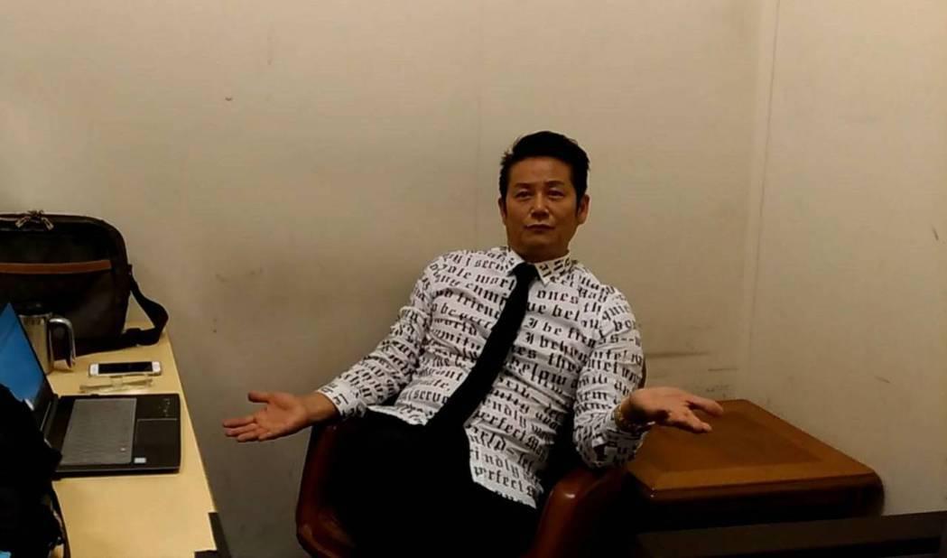 徐乃麟認為現在自己人生目的已非賺錢。記者李姿瑩/攝影