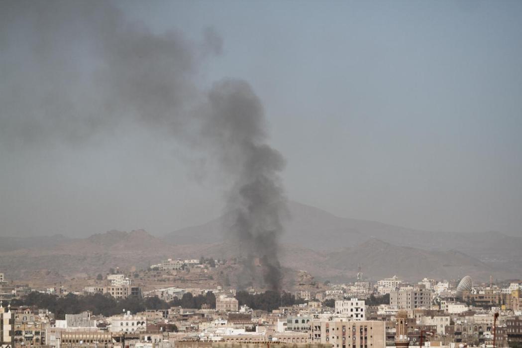 葉門首都薩那在本月15日也遭到沙國聯軍空襲。路透