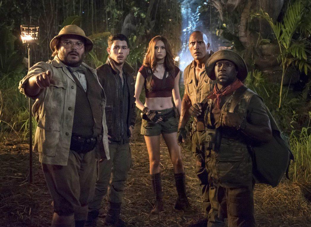 「野蠻遊戲:瘋狂叢林」被視為跨年檔第一強片。圖/索尼提供