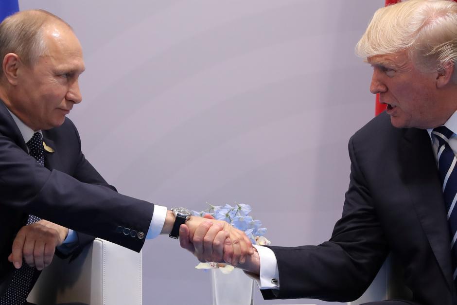 普亭與川普今年7月在G20峰會進行首次的一對一會談。路透
