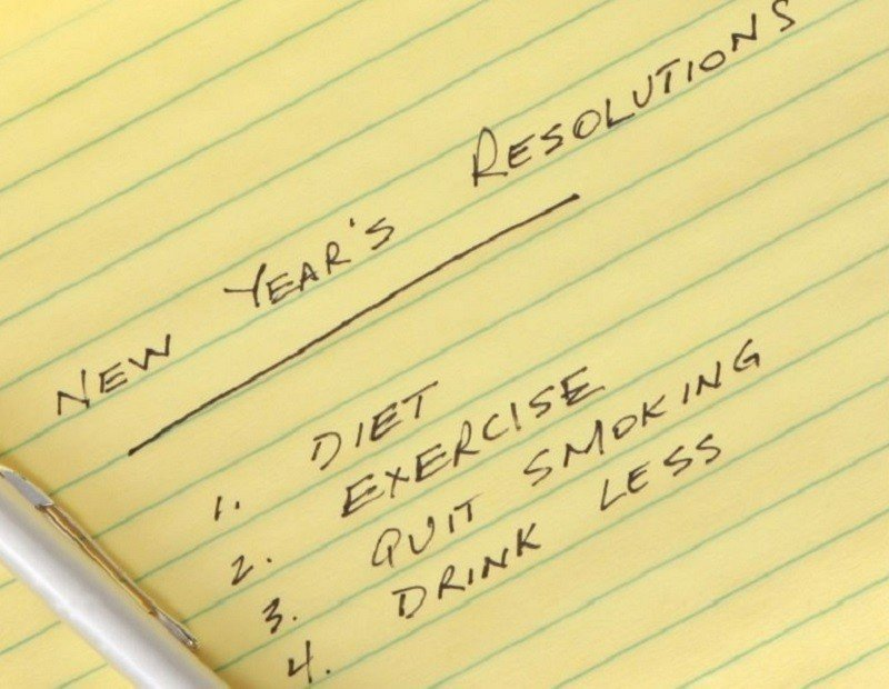 少吃、多運動、戒菸、少喝酒是常見的新年新希望。 路透
