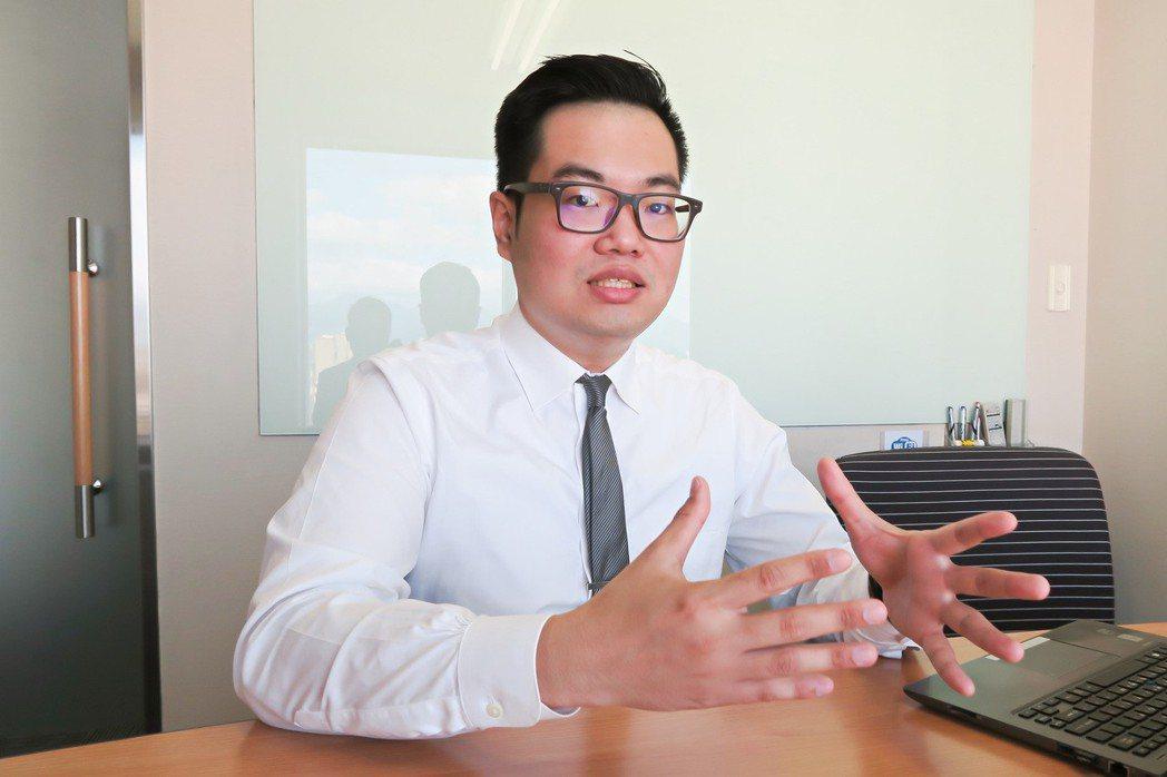 資策會產業情報中心(MIC)分析師吳柏羲。 彭子豪/攝影
