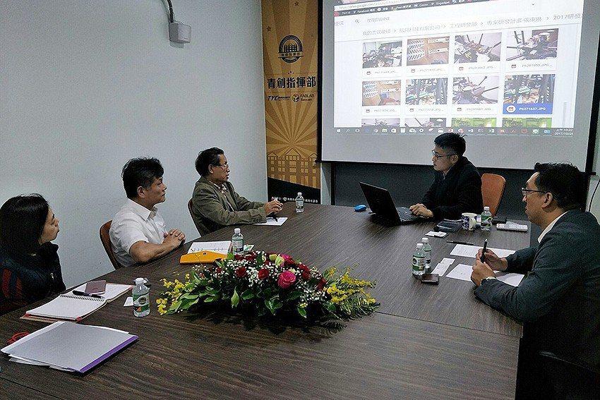 中科院與航見科技簽訂合作協議。 青創指揮部/提供