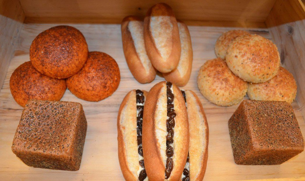 幸福頌系列產品之新麵包。 陳慧明 攝影