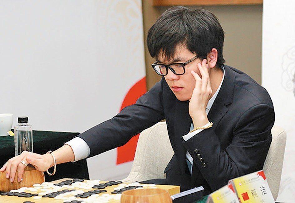 中國大陸圍棋高手柯潔。圖擷自澎湃新聞