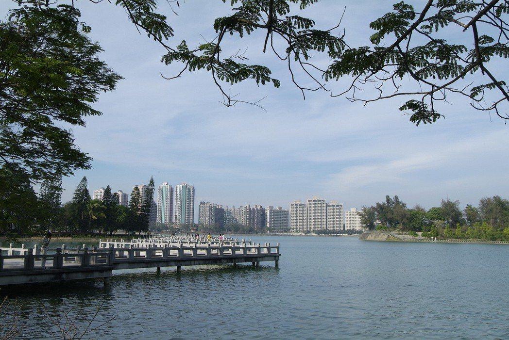澄清湖區總面積約375公頃。 圖片提供/京城建設