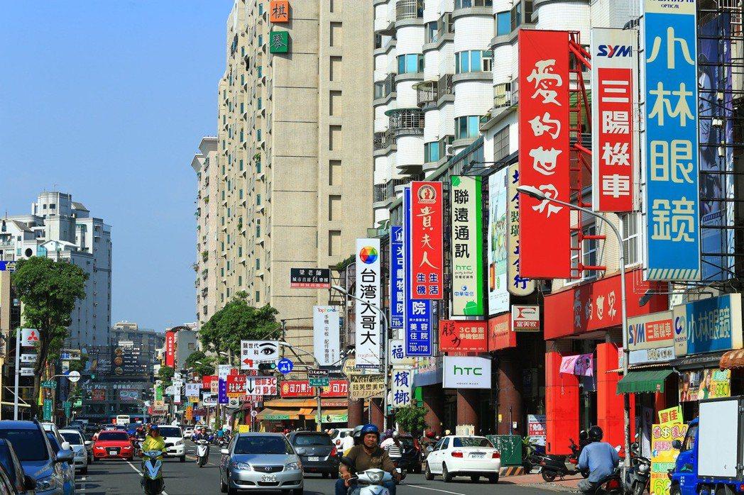 文山商圈為新興的繁華商圈。 圖片提供/京城建設