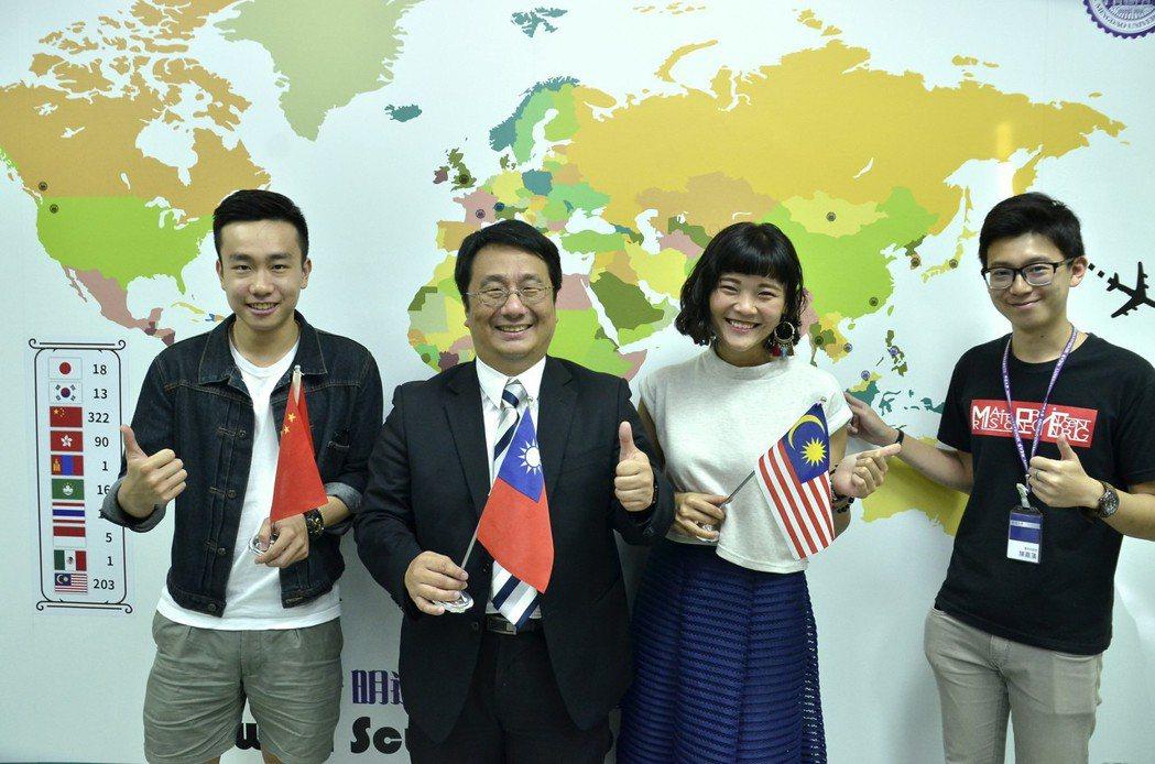 明道大學積極擴展海外市場,提升國際競爭力。 明道大學/提供。