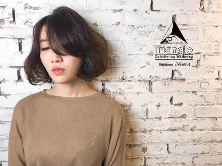髮型創作/Atom。圖/HairMap美髮地圖提供