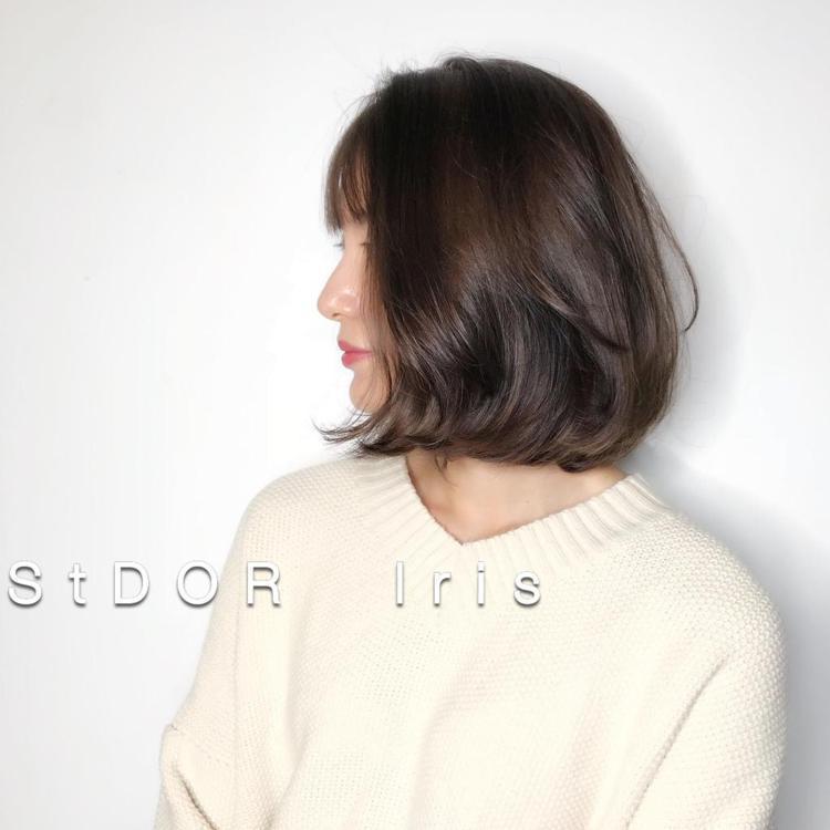 髮型創作/Iris Chen。圖/HairMap美髮地圖提供