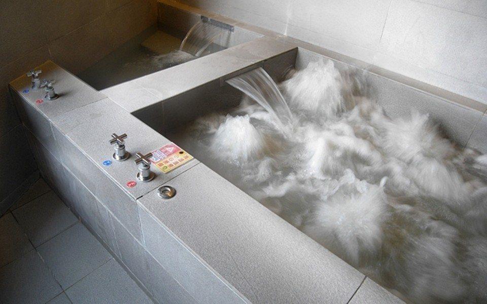 台南關子嶺獨有的「泥漿溫泉」。(圖片提供/雄獅旅遊)