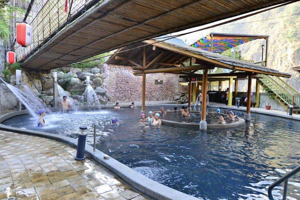 來到露天風呂,可以享受泡湯和SPA體驗。(圖片提供/雄獅旅遊)
