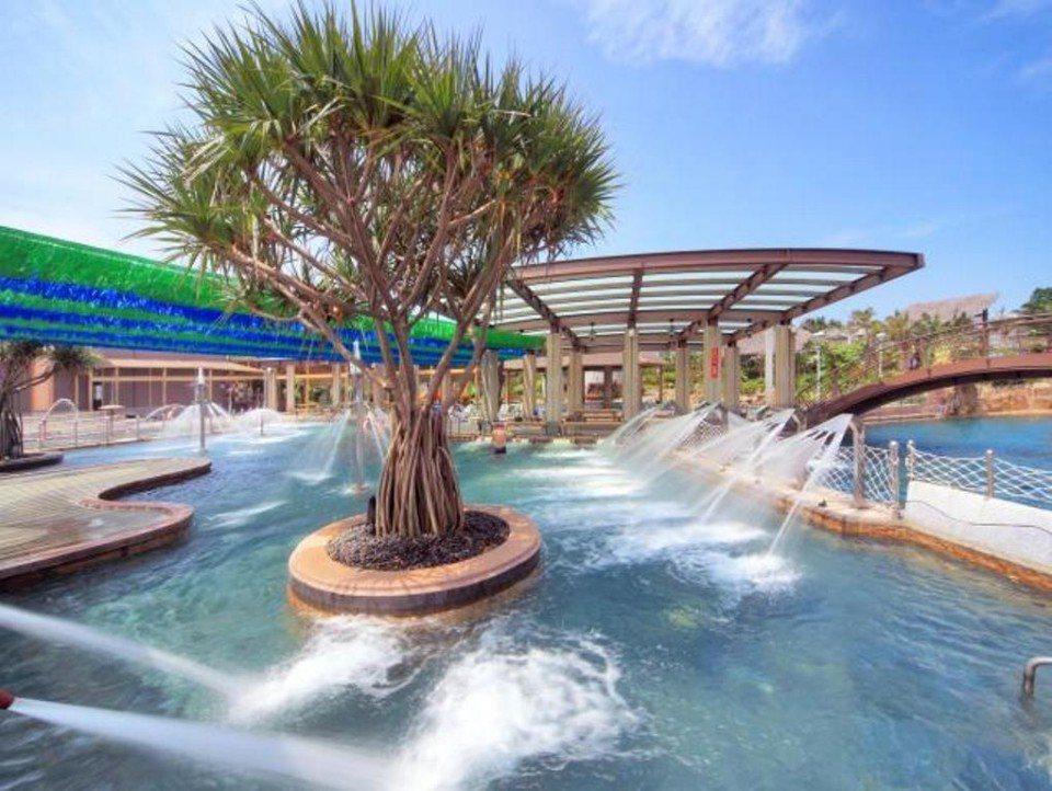寬廣的Spa水療池。(圖片提供/雄獅旅遊)