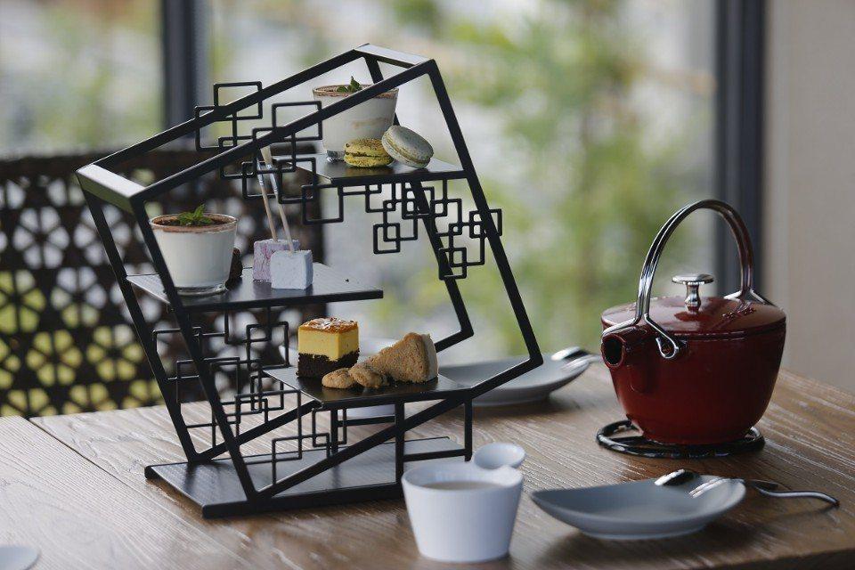 擺盤相當精緻的美味茶點。(圖片提供/雄獅旅遊)
