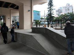 擺脫罐頭遊具 基隆29號橋下設極限運動場