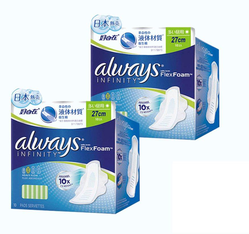 液體衛生棉吸收力強、更加輕薄,單月有破百萬元的銷售表現。圖/momo購物網提供