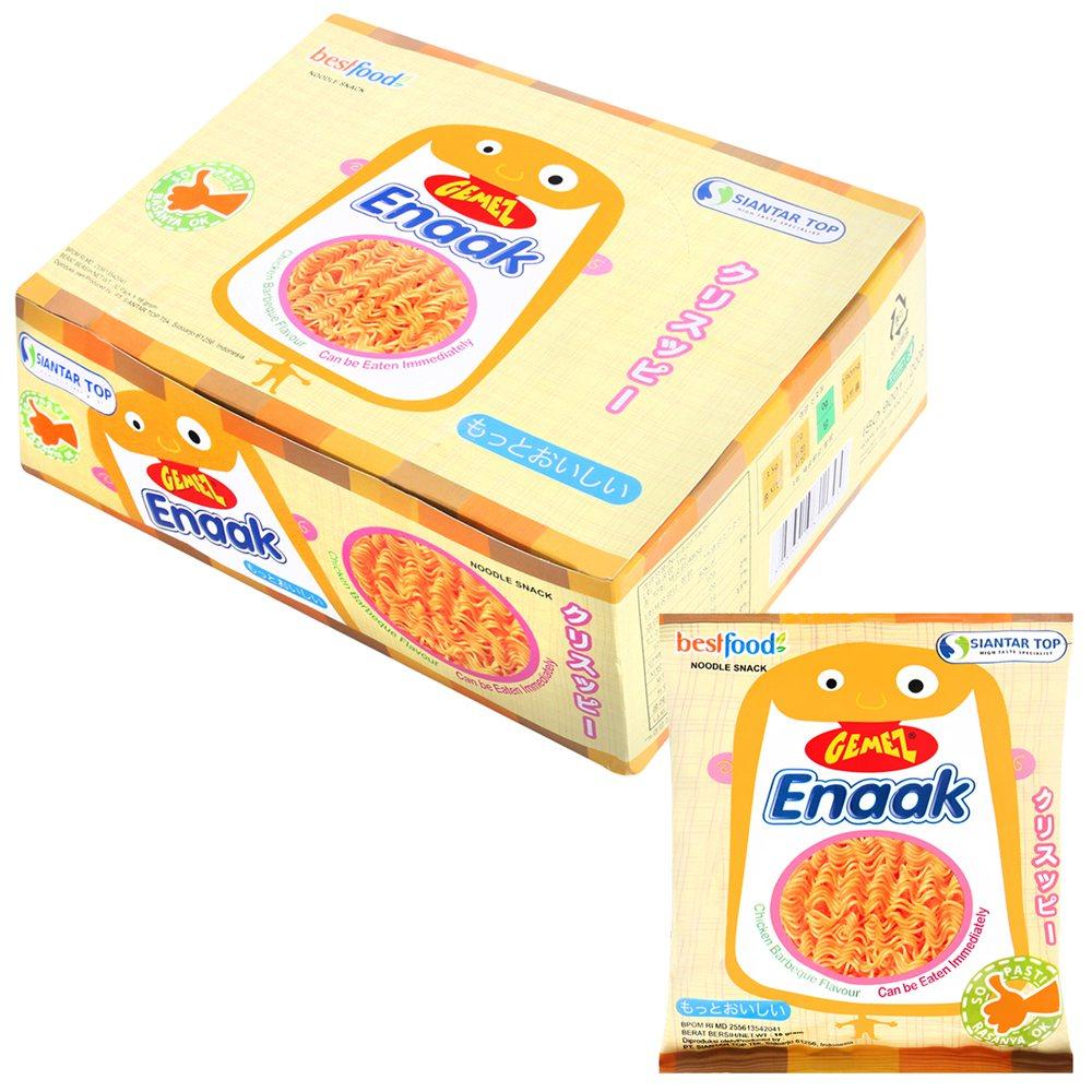 Enaak韓式小雞麵在網路團購分享醞釀之下掀起熱潮。圖/momo購物網提供