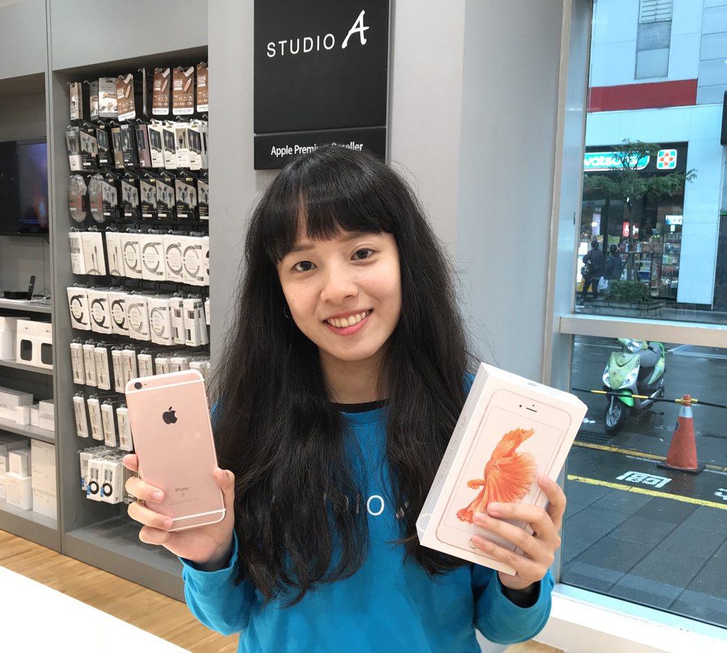 STUDIO A門市攜碼申辦指定方案,iPhone 6s Plus最低只要2,9...