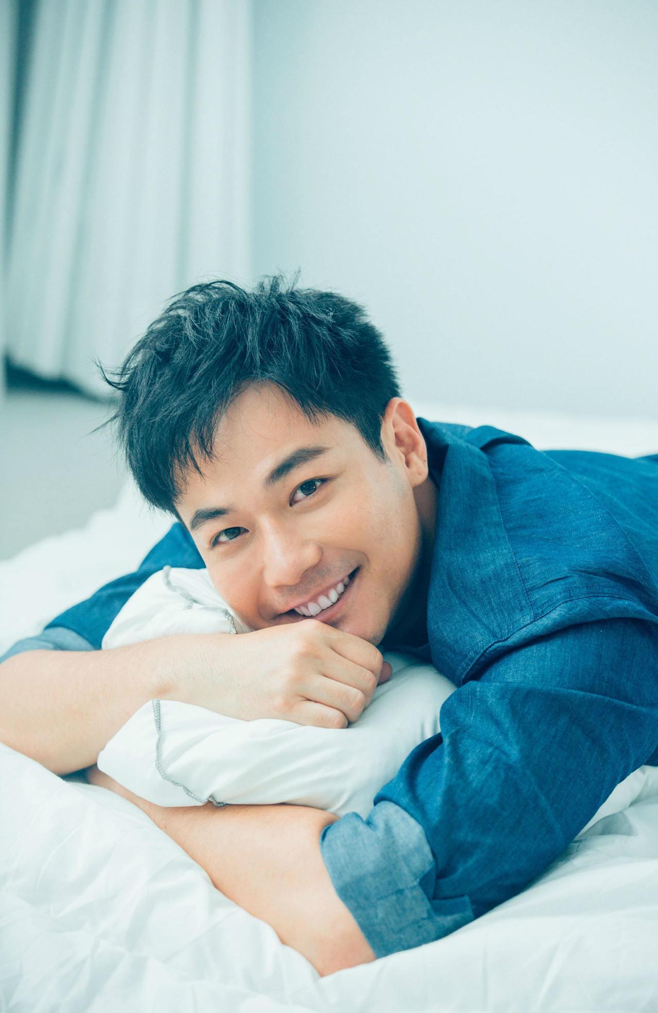劉傑中陽光笑容擄獲不少粉絲。圖/艾迪昇提供