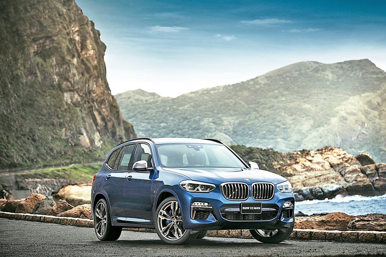 全新BMW X3 M40i。 圖/各業者提供