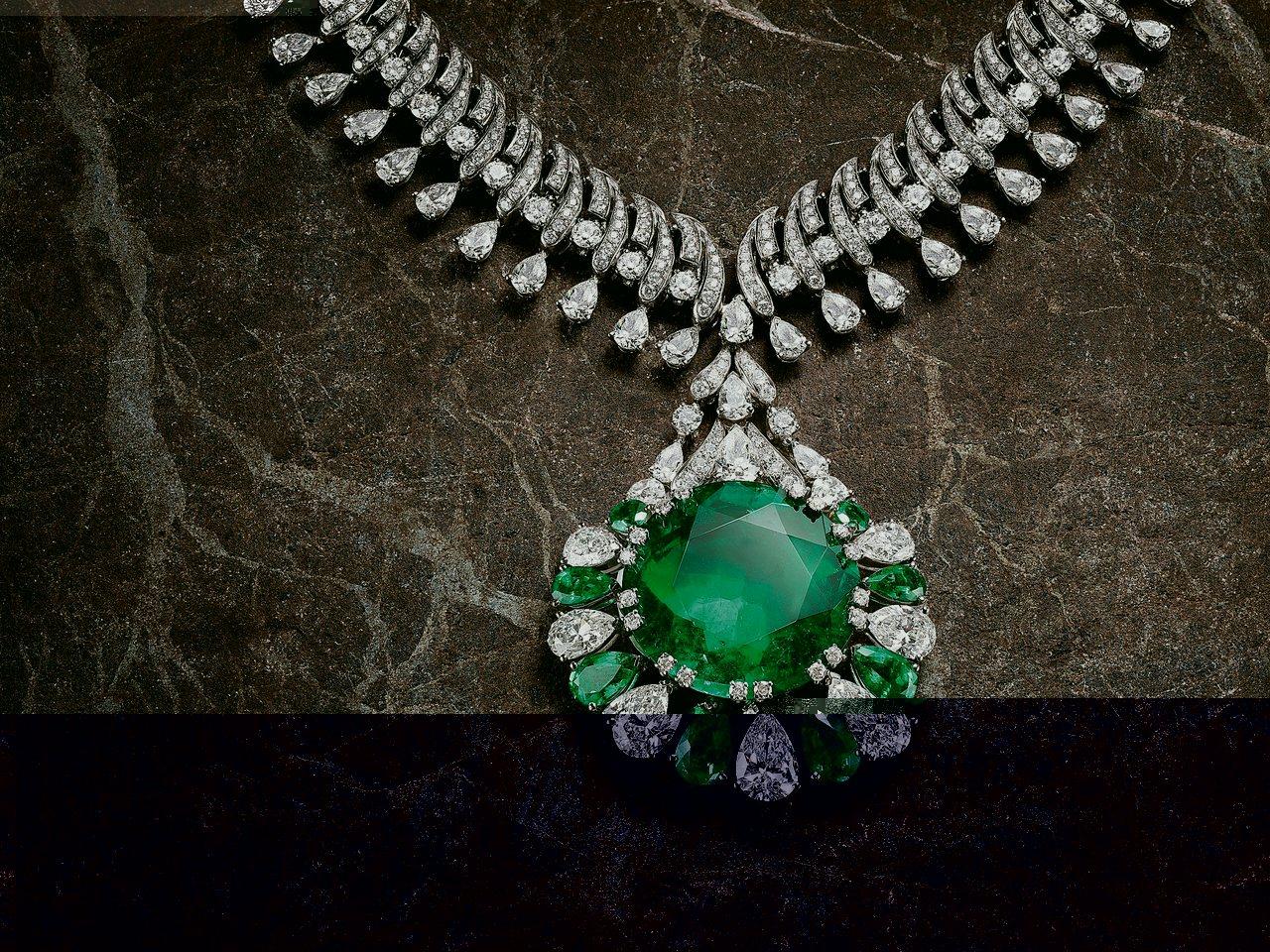 寶格麗頂級珠寶項鍊。 圖/各業者提供