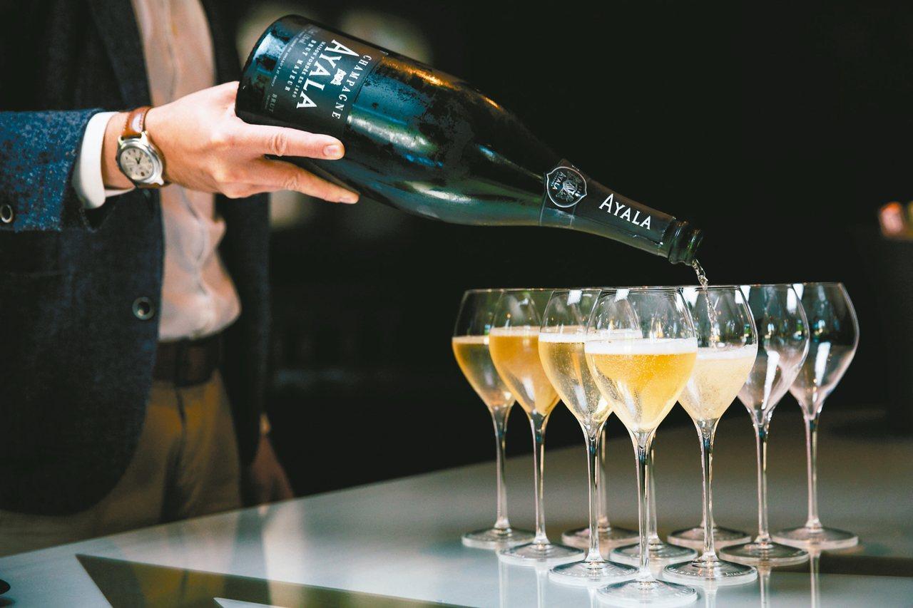 陳年舊香檳近年來在拍場頗受藏家青睞。 圖/本報資料照