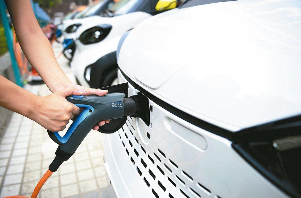 大陸新能源車免購置稅將續實施三年。 路透