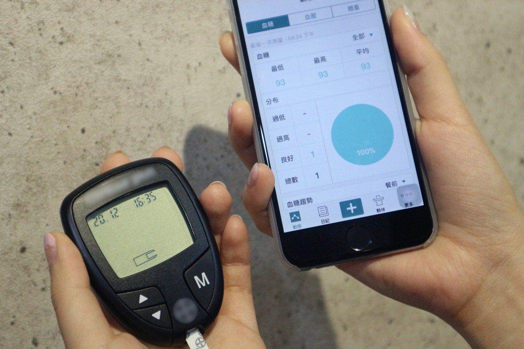 臺灣安晟信公司與智抗糖合作,將推出數位血糖管理照護方案。 業者/提供