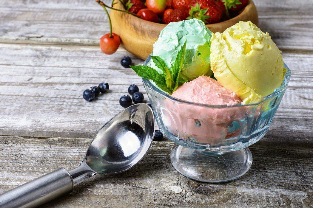 冬天吃冰品當心傷胃。 圖/ingimage授權