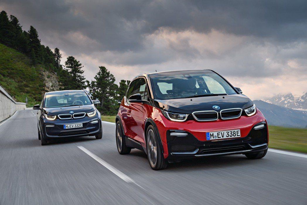 全新BMW i3、BMW i3s。 圖/BMW提供