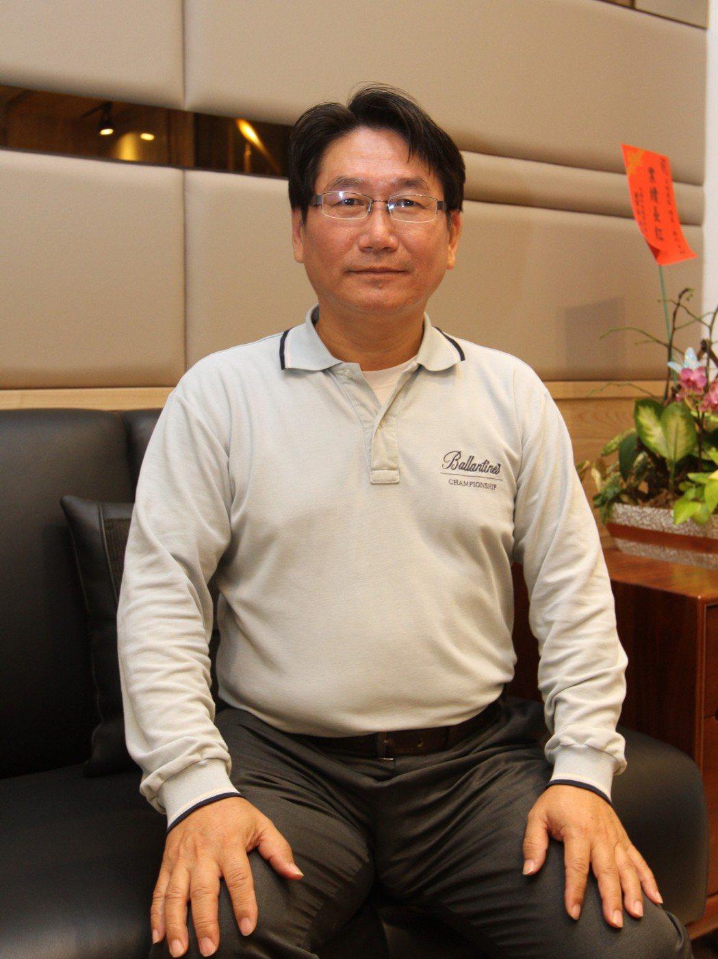 浤田建設董事長許正昌. 張傑/攝影