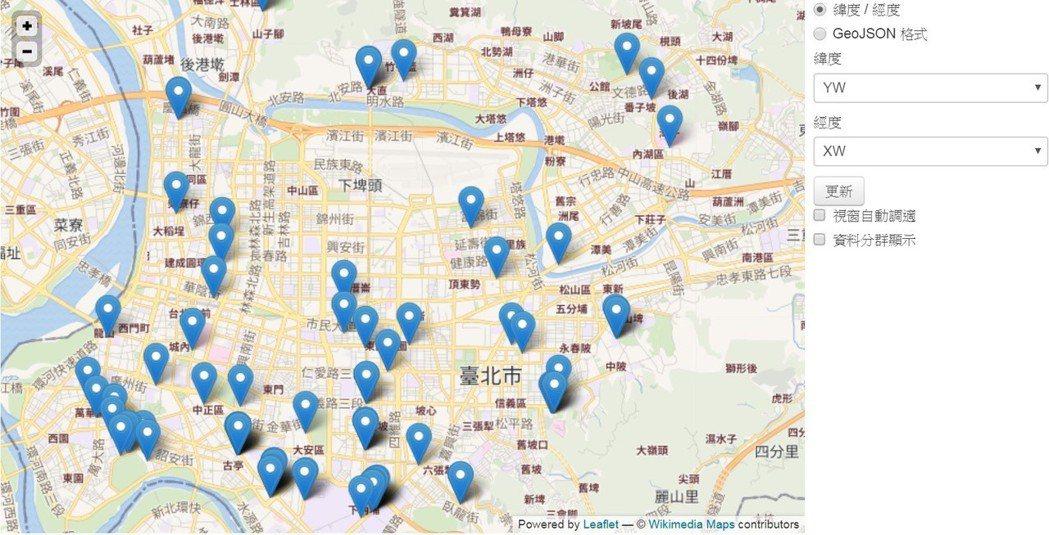台北市自行車停車位(oBike加值版)已可於台北市政府資料開放平台下載應用。 業...