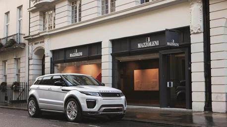 全新Range Rover Evoque 賽道測試捕獲