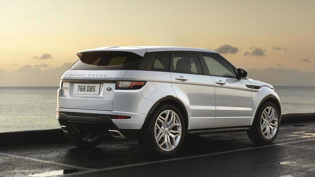 Range Rover Evoque。 摘自Land Rover