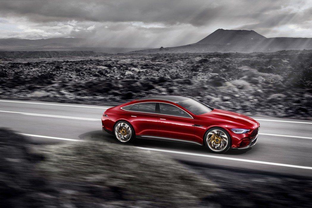 Mercedes-AMG GT Concept。 圖/台灣賓士提供