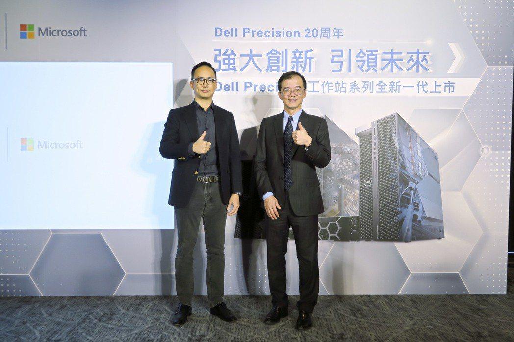 NVIDIA台灣業務副總經理林敬祖特為新一代Precision工作站系列上市活動...