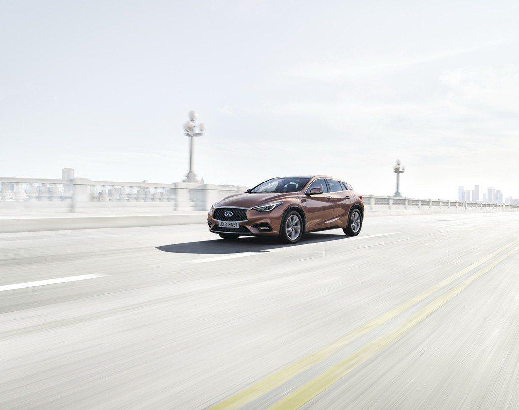 INFINITI旗下暢銷車款Q30將現身2018世界新車大展。 圖/INFINI...