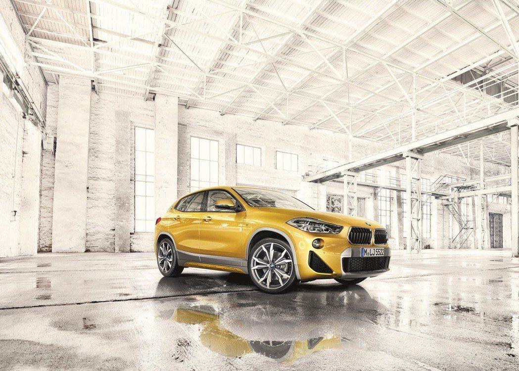 全新BMW X2。 圖/汎德提供