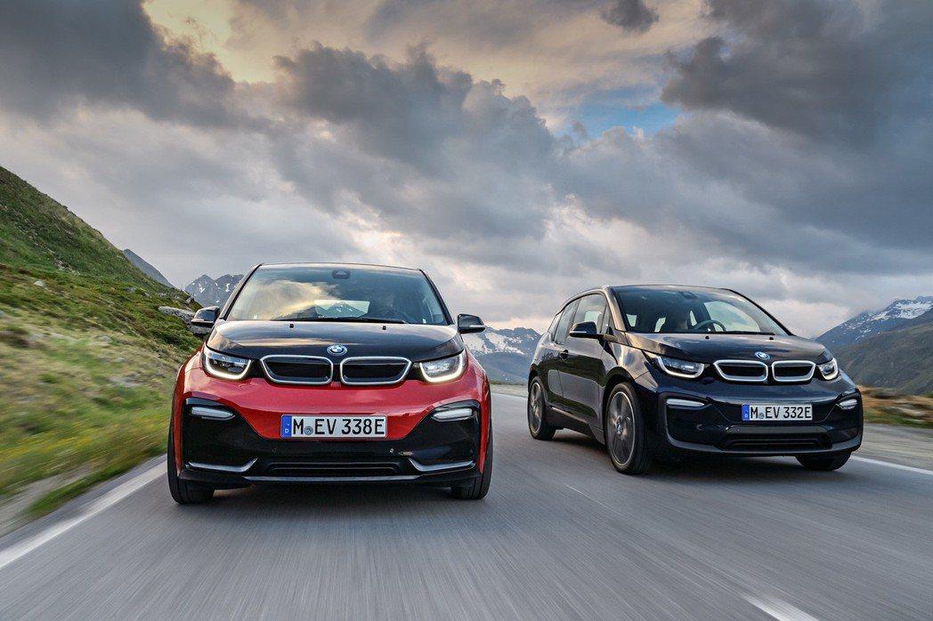 全新BMW i3、BMW i3s。 圖/汎德提供