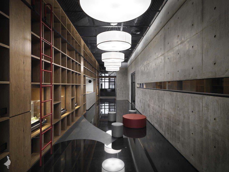 (圖)冠宇和瑞空間設計 設計作品《築.根》