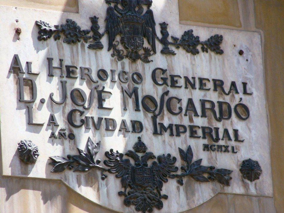 歷史記憶法實施後,必須去除所有獨裁者的痕跡,在TOLEDO城內有一處以當時佛朗哥...
