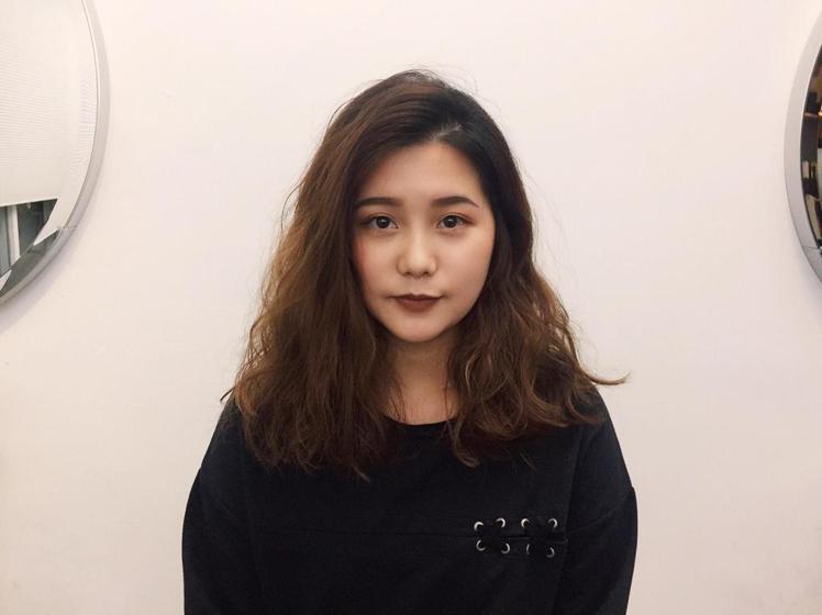 髮型創作/Queena。圖/HairMap美髮地圖提供