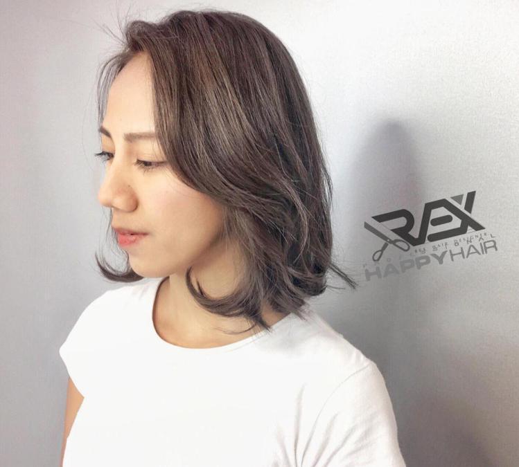 髮型創作/Rex。圖/HairMap美髮地圖提供